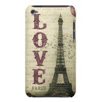 Vintage Paris Barely There iPod Cases from Zazzle.com