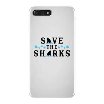 Save The Sharks iPhone 7 Plus Case