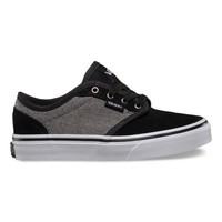 Vans Kids Atwood (Suede Grindle charcoal/black)