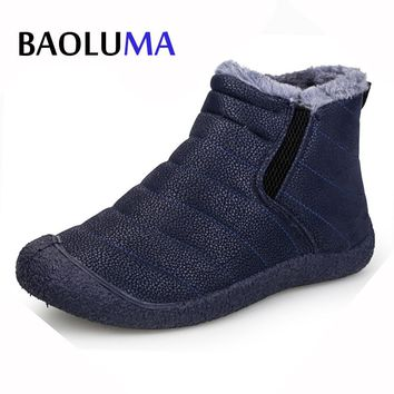 2017 New Couple Unisex Boot Women's Winter Snow Boots Keep Super  Warm Boots Plush Ankle Snow Work Shoes Women Boots