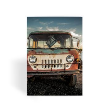 Jeep thing Greeting Card