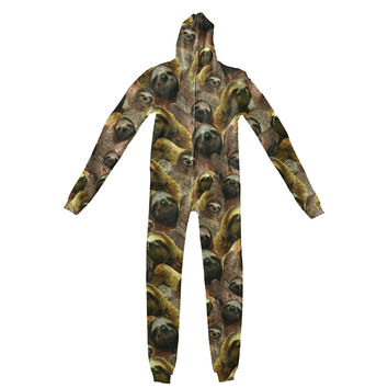 Sloth Invasion Adult Jumpsuit