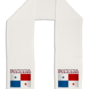 "Panama Flag Adult Fleece 64"" Scarf"