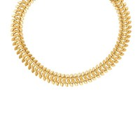Vintage 18k Gold Link Necklace | World's Best