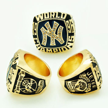Christmas gifts Rings For Men Hot selling Sport Jewelry 1996 NY World Series Championship Ring