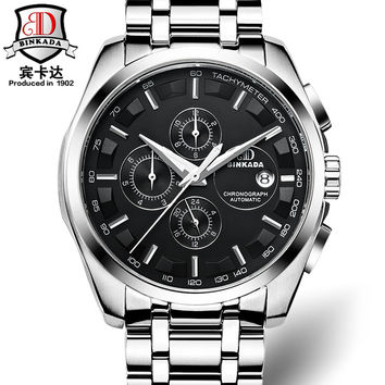 Tactical Watches - Swiss Brand Luxury Automatic Mens Mechanical brand luxury orologi tourbillon clock men sports watch swiss military automatik watch