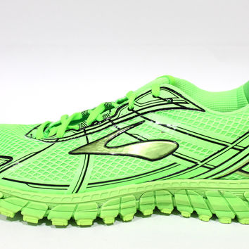 Brooks Men's Adrenaline GTS 15 Green Lime Running Shoes