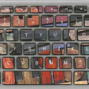 Digital Section Keyboard Stickers / Decals For MacBook (Pro 13 Inch Retina)