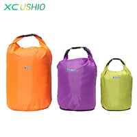 Outdoor Portable 20L 40L 70L Waterproof Bag Storage Dry Bag for Rafting Cycling River Tracing Sports Outdoor Camping Travel Kit