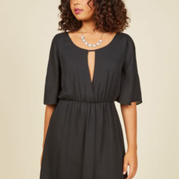 Your Flutter Half A-Line Dress