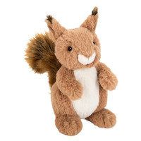 Buy John Lewis Buster the Boxer Sid the Squirrel Plush Soft Toy, Brown, H22cm | John Lewis