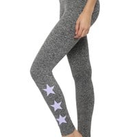 Strut-This Lavender Star Leggings
