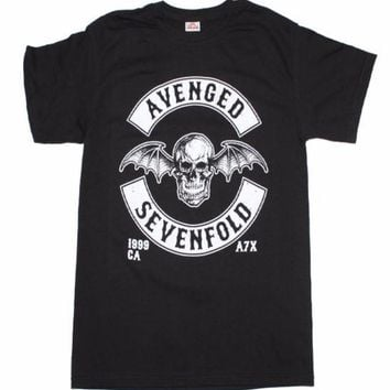 Avenged Sevenfold Deathbat Crest T-Shirt