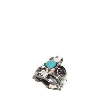 Fashionology Sterling Silver Thunderbird Ring