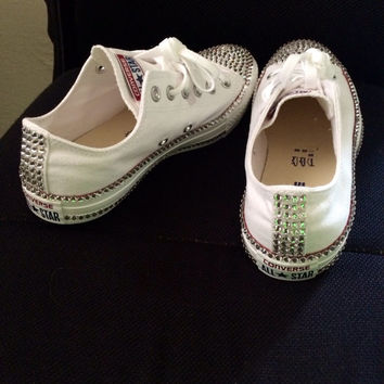 swarovski rhinestone converse chucks. Great gift or item for you 96dc015a5