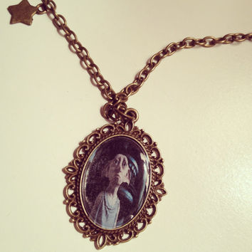 Harry Potter Dobby Cameo Necklace  by RabbitJewellery on Etsy