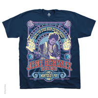 Jimi Hendrix - Experience Monterey T Shirt on Sale for $19.95 at HippieShop.com