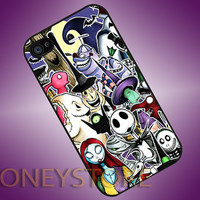 The Nightmare Before Chriistmas - Photo Print for iPhone 4/4s, iPhone 5/5C, Samsung S3 i9300, Samsung S4 i9500 Hard Case