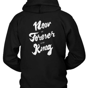 M83 Outtro Lyrics Hoodie Two Sided