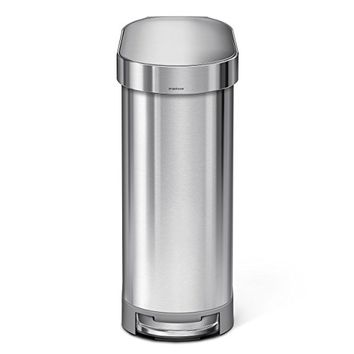simplehuman Slim Step Can Brushed Stainless Steel 45 Liters / 12 Gallons