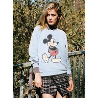 Mickey Mouse Blue Sweater