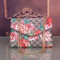 Floral GUCCI Crossbody Bags Purses and Handbags Shoulder Chain Bags for Women Purses