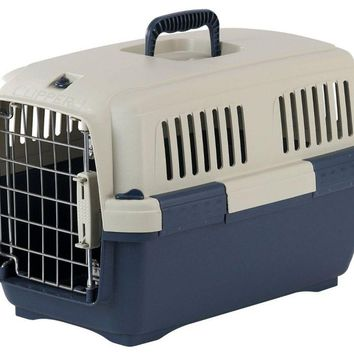 Clipper Cayman Dog Kennel - Blue
