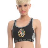 Harry Potter Hogwarts Low-Impact Sports Bra