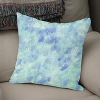«Blue lagoon», Numbered Edition Coussin by Savousepate - From 25€ - Curioos
