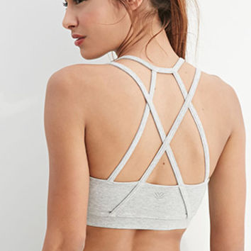 Medium Impact - Strappy Sports Bra