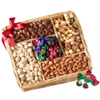 Broadway Basketeers Nuts Over Dad Gift Tray