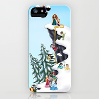 Welcome Anna and Elsa iPhone & iPod Case by Katie Simpson
