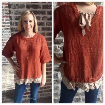 Cinnamon Sweet Sweater