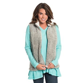 Sherpa Vest in High Rise by The Southern Shirt Co. - FINAL SALE