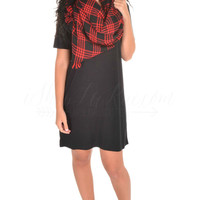 Short Sleeve Piko Dress