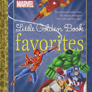 Marvel Heroes Little Golden Book Favorites #1 Marvel