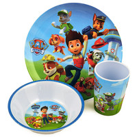 Paw Patrol 3 Piece Mealtime Set