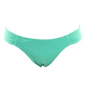 Foxy Tab Bikini Seafoam Full - Final Sale - Seafoam Bottom XS