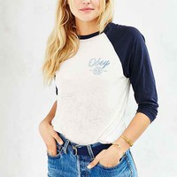 OBEY Paint And Destroy Raglan Tee