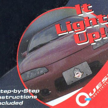 License Plate - Light Up