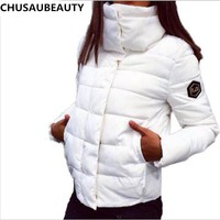 2017 NEW Women Coat Fashion Autumn Winter Female Down Jacket Women Parkas Casual Jackets Inverno Parka Wadded Parkas Cotton