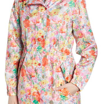 Joules Go Lightly Waterproof Pack Away Hooded Jacket | Nordstrom