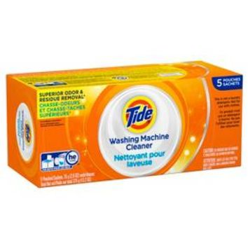 Tide® High Efficiency Washing Machine Cleaner - 5 count