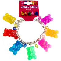 Confetti & Friends Gummy Bear Charm Bracelet