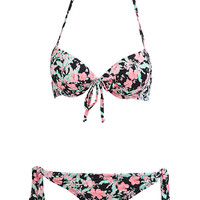 Boho Floral Two-Piece Bikini Bikinis Swimsuit Bathing Suit Swim Beach Beachwear Outfit Fashion S M L