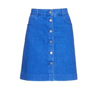 A-line denim skirt | Stella McCartney | MATCHESFASHION.COM US
