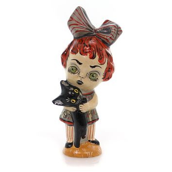Vaillancourt Ghouly Girl Halloween Figurine