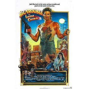 Big Trouble In Little China Movie 8x10 photo