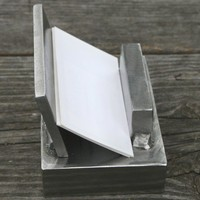 Business Card Holder Handcrafted Welded Steel Scrap