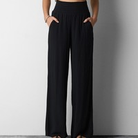 AEO PRINTED WIDE LEG SOFT PANT